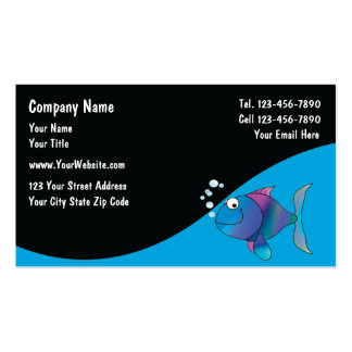 Marine Aquarium Services Cards Pack Of Standard Business Cards