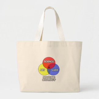 Marine Biology .. Science Art Luck Canvas Bags