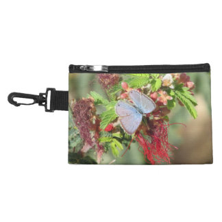 Marine Blue Butterfly Accessory Bags