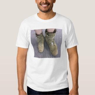 Marine boots in Iraq T Shirt