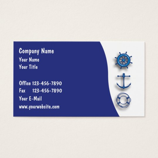 Marine Business Cards