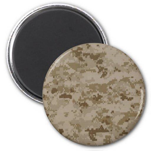 Marine Camo Fridge Magnets