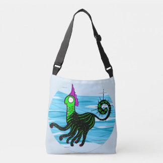 Marine cat crossbody bag