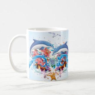 Marine Collage Mug