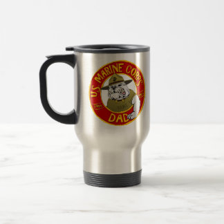 Marine Corp Dad Travel Mug