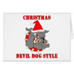 Marine Corps Christmas Devil Dog Style
