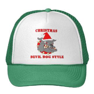Marine Corps Christmas Devil Dog Style Cap