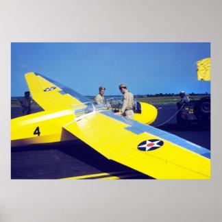 Marine Corps Glider 1942 Poster