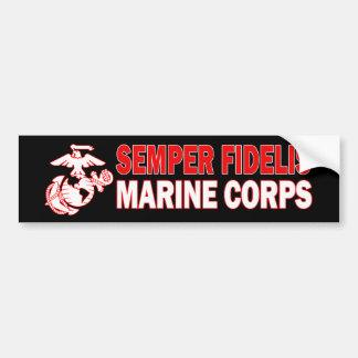 Marine Corps Semper Fidelis Bumper Sticker