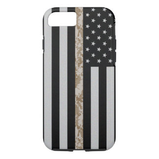 Marine Corps Thin Desert Camo Line Flag iPhone 7 iPhone 8/7 Case
