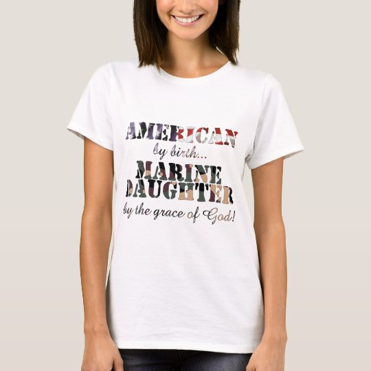 Marine Daughter Grace of God T-Shirt