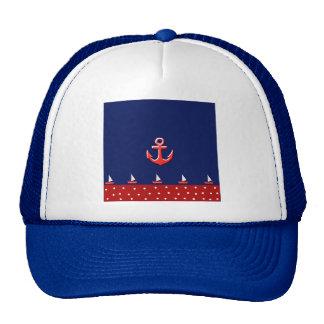 marine design hat