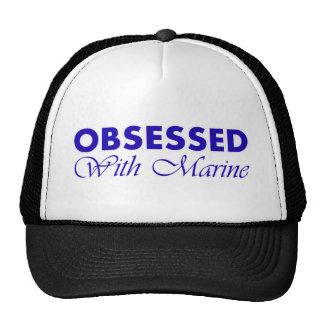 Marine design mesh hat