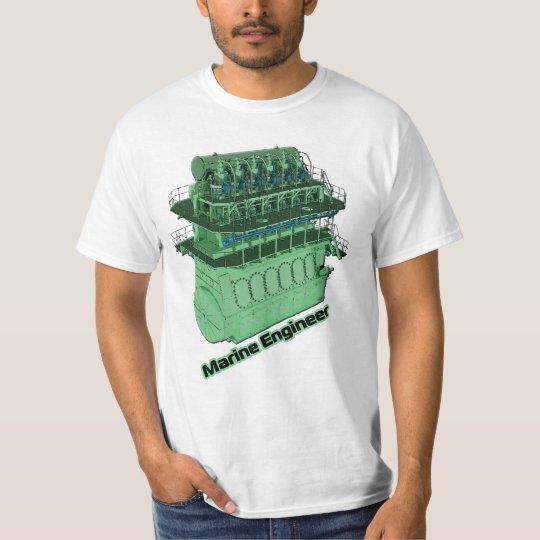 Marine Engineer (MAN) - White T-Shirt