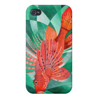 Marine Fire Fish or Lionfish Case For iPhone 4