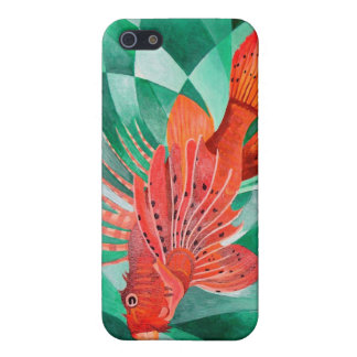 Marine Fire Fish or Lionfish Cover For iPhone 5/5S
