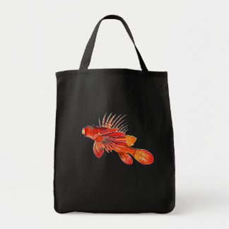 Marine Fire Fish or Lionfish Tote Bag