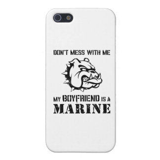 Marine Girlfriend iPhone 5/5S Cover