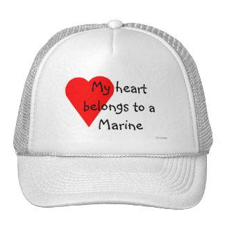 Marine Heart Hat