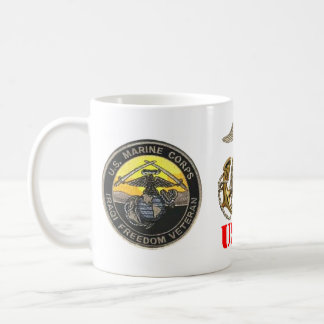 MARINE IRAQ FREEDOM VETERAN COFFEE MUG