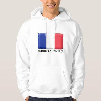 Marine Le Pen 2017 apparel Hoodie