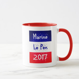 Marine Le Pen 2017 mugs and glassware