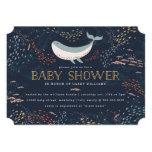 Marine Life Baby Shower 13 Cm X 18 Cm Invitation Card