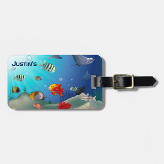 Marine Life Bag Tag