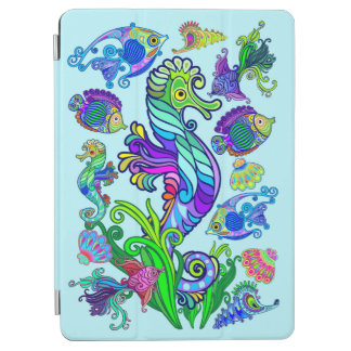Marine Life Exotic Fishes & SeaHorses iPad Air Cover