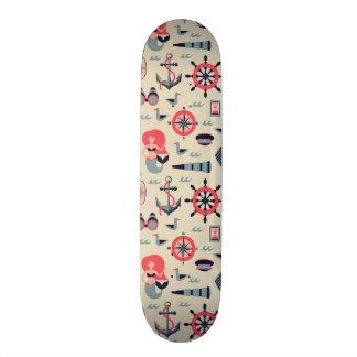 Marine Life Pattern Skate Board Decks