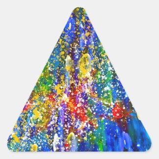 Marine Life Triangle Sticker