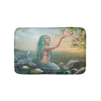 Marine Mermaid Bath Mats