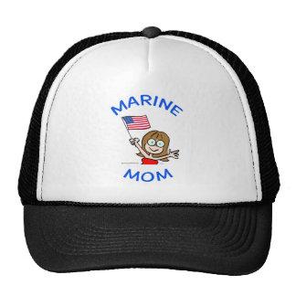 marine mom marines corps patriotism hats