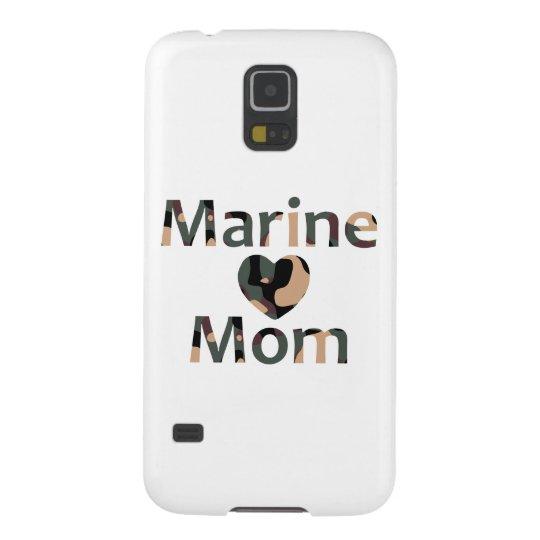 Marine Mum Heart Camo Galaxy S5 Covers