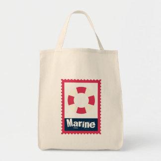 Marine - Nautical Life Ring Bags
