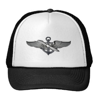marine pilot wings cap