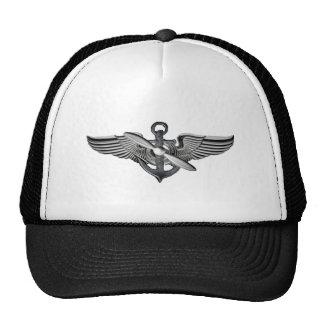 marine pilot wings mesh hats