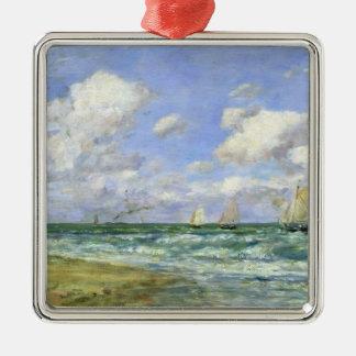 Marine scene, 1894 christmas ornament