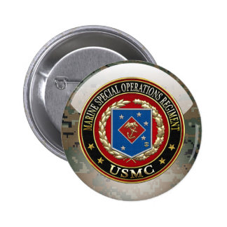 Marine Special Operations Regiment (MSOR) [3D] 6 Cm Round Badge