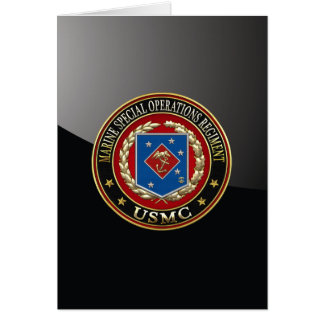 Marine Special Operations Regiment (MSOR) [3D] Card