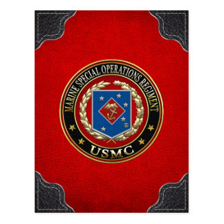 Marine Special Operations Regiment (MSOR) [3D] Postcard
