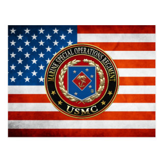 Marine Special Operations Regiment (MSOR) [3D] Postcard