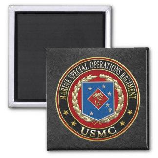 Marine Special Operations Regiment (MSOR) [3D] Square Magnet