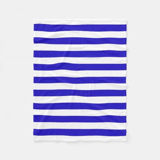 Marine stripes pattern, thick stripes blue & white