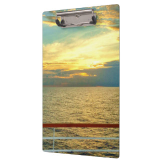 Marine Sunrise Clipboard