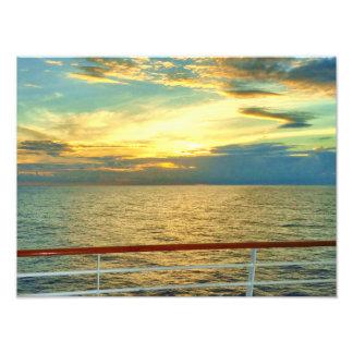 Marine Sunrise Photo