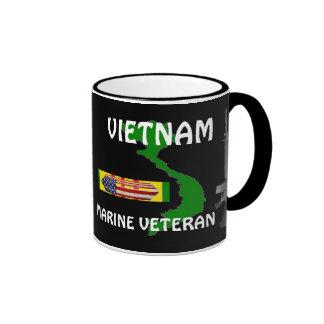 Marine Veteran Vietnam Coffee Mugs