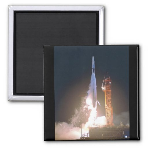 Mariner I 1 rocket into space toward Venus NASA Magnet
