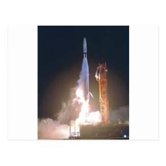 Mariner I 1 rocket into space toward Venus NASA Postcards