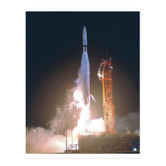 Mariner I 1 rocket into space toward Venus NASA Postcard